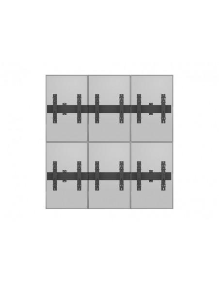 """Multibrackets 5044 fäste för skyltningsskärm 139.7 cm (55"""") Svart Multibrackets 7350073735044 - 13"""