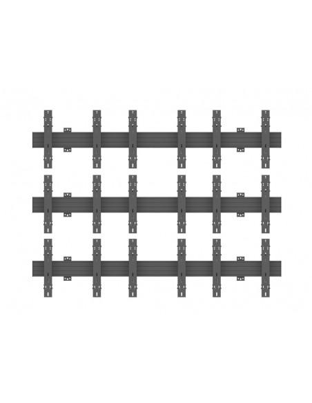 """Multibrackets 5051 kyltin näyttökiinnike 139.7 cm (55"""") Musta Multibrackets 7350073735051 - 2"""