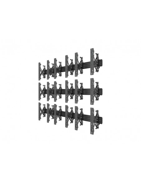 """Multibrackets 5051 kyltin näyttökiinnike 139.7 cm (55"""") Musta Multibrackets 7350073735051 - 3"""