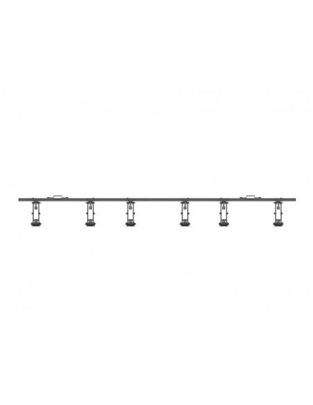 """Multibrackets 5051 kyltin näyttökiinnike 139.7 cm (55"""") Musta Multibrackets 7350073735051 - 6"""