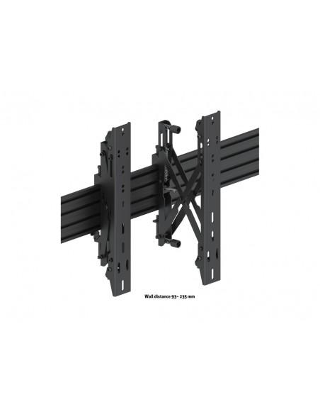 """Multibrackets 5051 fäste för skyltningsskärm 139.7 cm (55"""") Svart Multibrackets 7350073735051 - 10"""