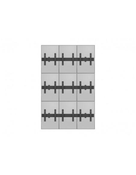 """Multibrackets 5051 kyltin näyttökiinnike 139.7 cm (55"""") Musta Multibrackets 7350073735051 - 13"""