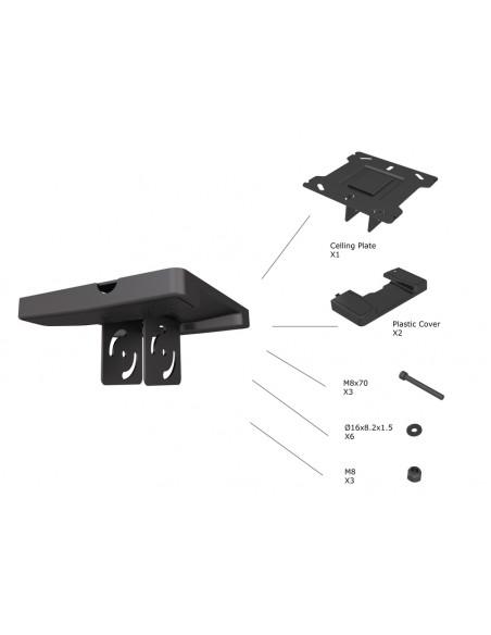 Multibrackets 5075 tillbehör till bildskärmsfäste Multibrackets 7350073735075 - 2