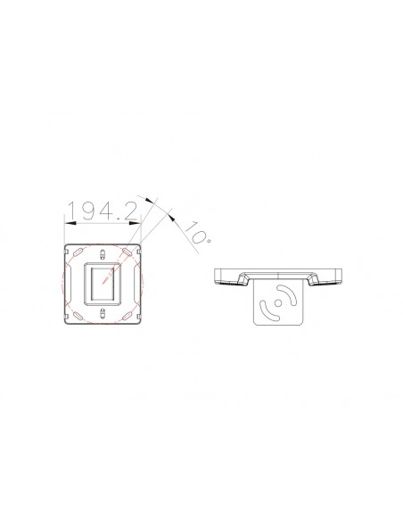 Multibrackets 5075 tillbehör till bildskärmsfäste Multibrackets 7350073735075 - 3