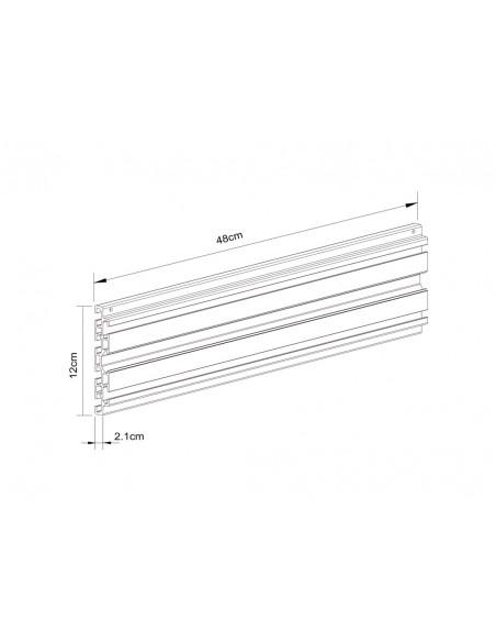 Multibrackets 5082 tillbehör till bildskärmsfäste Multibrackets 7350073735082 - 3