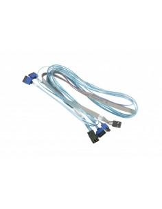 Supermicro CBL-SAST-0699 SATA-kablar 90 m Blå, Grå Supermicro CBL-SAST-0699 - 1