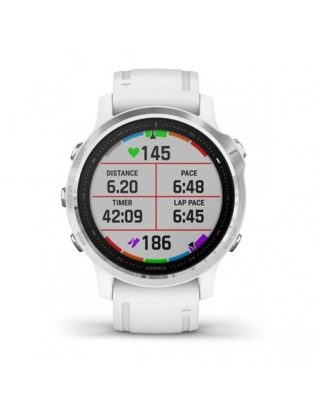 "Garmin fēnix 6S 3.05 cm (1.2"") 42 mm Black, White GPS (satellite) Garmin 010-02159-00 - 6"