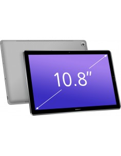 "Huawei MediaPad M5 10 4G LTE 64 GB 27.4 cm (10.8"") Hisilicon Kirin 4 Wi-Fi 5 (802.11ac) Android 8.0 Grey Huawei 53010BES - 1"