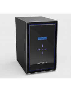 Netgear RN428 NAS Desktop Ethernet LAN Black Netgear RN428E6-100NES - 1