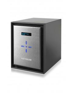 Netgear ReadyNAS 626X NAS Mini Tower Ethernet LAN Musta, Hopea D-1521 Netgear RN626X00-100NES - 1