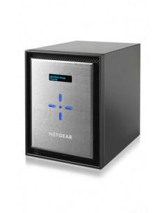 Netgear ReadyNAS 626X NAS Mini Tower Ethernet LAN Musta, Hopea D-1521 Netgear RN626XE3-100NES - 1