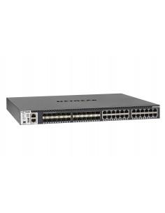 Netgear M4300-24X24F Managed L2/L3/L4 10G Ethernet (100/1000/10000) 1U Black Netgear XSM4348S-100NES - 1