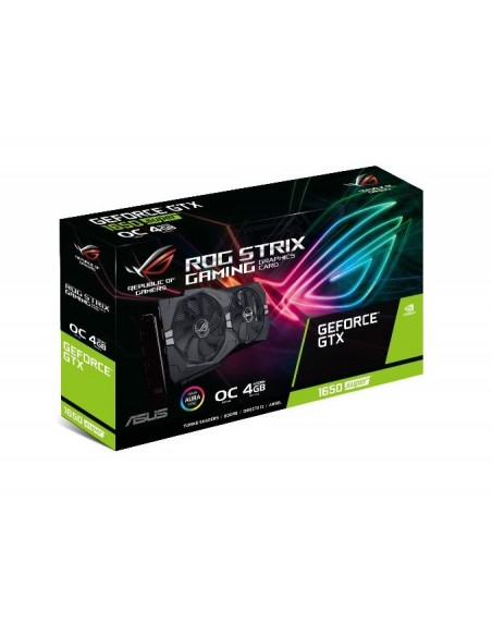 ASUS ROG -STRIX-GTX1650S-O4G-GAMING NVIDIA GeForce GTX 1650 SUPER 4 GB GDDR6 Asus 90YV0E10-M0NA00 - 7