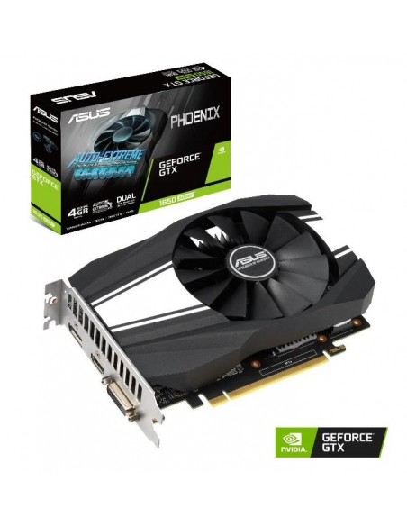 ASUS Phoenix PH-GTX1650S-4G NVIDIA GeForce GTX 1650 SUPER 4 GB GDDR6 Asus 90YV0E41-M0NA00 - 9