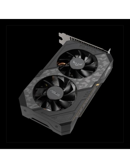 ASUS TUF Gaming TUF-GTX1650-O4GD6-GAMING NVIDIA GeForce GTX 1650 4 GB GDDR6 Asus 90YV0EH0-M0NA00 - 4