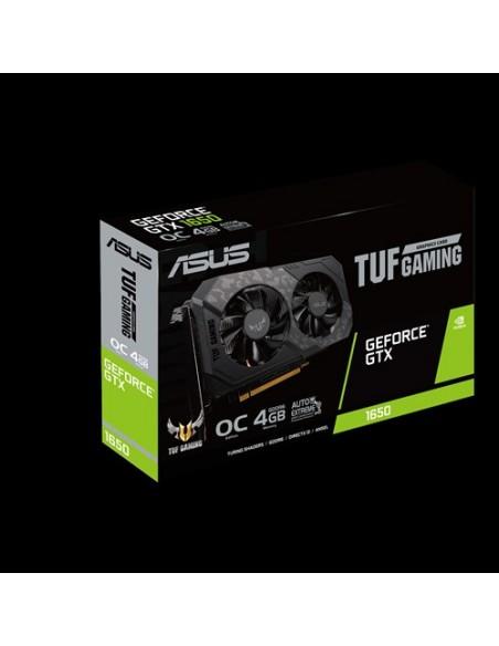 ASUS TUF Gaming TUF-GTX1650-O4GD6-GAMING NVIDIA GeForce GTX 1650 4 GB GDDR6 Asus 90YV0EH0-M0NA00 - 8