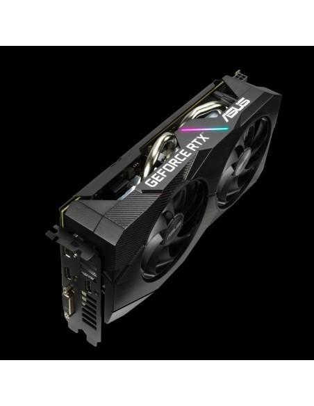 ASUS Dual -RTX2060-A6G-EVO NVIDIA GeForce RTX 2060 6 GB GDDR6 Asustek 90YV0CH3-M0NA00 - 7