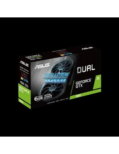 ASUS Dual -GTX1660-O6G EVO NVIDIA GeForce GTX 1660 6 GB GDDR5 Asustek 90YV0D11-M0NA00 - 8