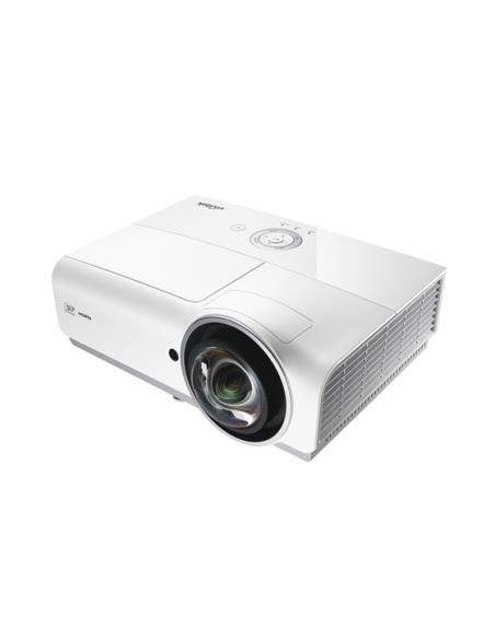 Vivitek DW882ST data projector Desktop 3600 ANSI lumens DLP WXGA (1280x800) Grey, White Vivitek DW882ST - 4