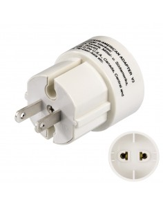 Hama American Plug power adapter/inverter White Hama 44211 - 1