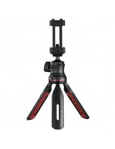 Hama Solid II, 21B stativ Smartphone/digitalkamera 3 ben Svart, Röd Hama 4635 - 1
