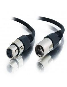 C2G 2m Pro-Audio XLR cable M/F audio (3-pin) Black C2g 80378 - 1