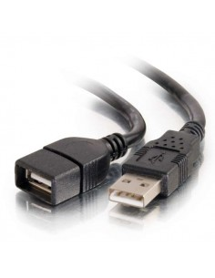 C2G 82107 USB-kablar 2 m USB 2.0 A Svart C2g 82107 - 1