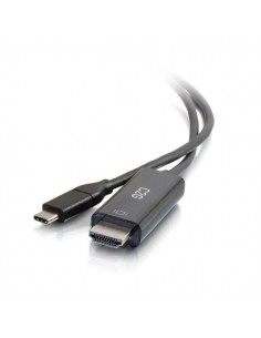 C2G 82381 videokaapeli-adapteri 0.9 m USB Type-C HDMI-tyyppi A (vakio) Musta C2g 82381 - 1