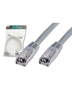 Digitus Patch Cable, SFTP, CAT5E, 7M, grey verkkokaapeli Harmaa SF/UTP (S-FTP) Assmann DK-1531-070 - 1