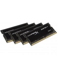 HyperX Impact 64GB DDR4 2400MHz Kit muistimoduuli 4 x 16 GB Kingston HX424S15IBK4/64 - 1