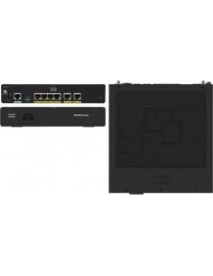 Cisco C931-4P nätverksswitchar hanterad Svart Cisco C931-4P - 1