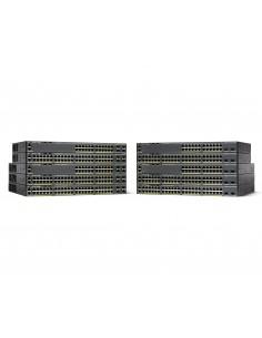 Cisco Catalyst WS-C2960X-48TS-LL verkkokytkin Hallittu L2/L3 Gigabit Ethernet (10/100/1000) Musta Cisco WS-C2960X-48TS-LL - 1