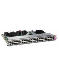 Cisco WS-X4748-RJ45V+E= network switch module Fast Ethernet, Gigabit Ethernet Cisco WS-X4748-RJ45V+E= - 1