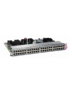 Cisco WS-X4748-UPOE+E= network switch L2 Gigabit Ethernet (10/100/1000) Power over (PoE) 1U Silver Cisco WS-X4748-UPOE+E= - 1