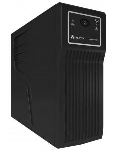 Vertiv Liebert PSP 650VA (390W) UPS-virtalähde Valmiustila (ilman yhteyttä) 4 AC-pistorasia(a) Vertiv PSP650MT3-230U - 1