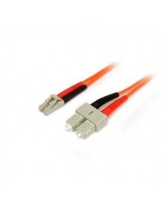 StarTech.com Fiber Optic Cable - Multimode Duplex 50/125 LSZH LC/SC 2 m Startech 50FIBLCSC2 - 1