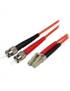 StarTech.com 50FIBLCST1 fiberoptikkablar 1 m LC st OM2 Orange Startech 50FIBLCST1 - 1