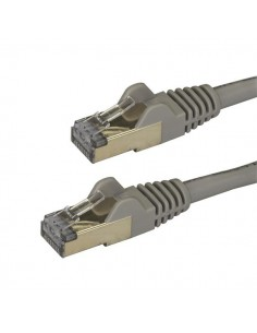 StarTech.com Cat6a Ethernet-kabel - skärmad (STP) 2 m, grå Startech 6ASPAT2MGR - 1