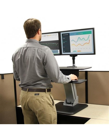 StarTech.com Sit-to-Stand Workstation Startech ARMSTS - 9