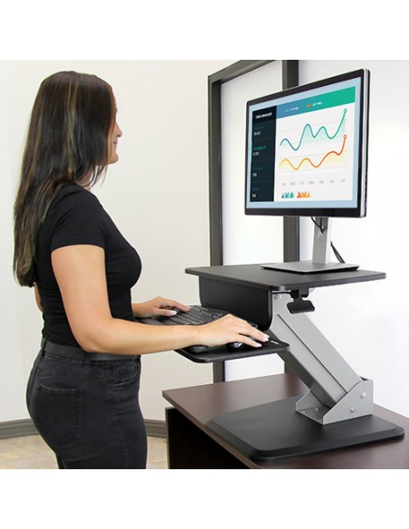 StarTech.com Sit-to-Stand Workstation Startech ARMSTS - 10