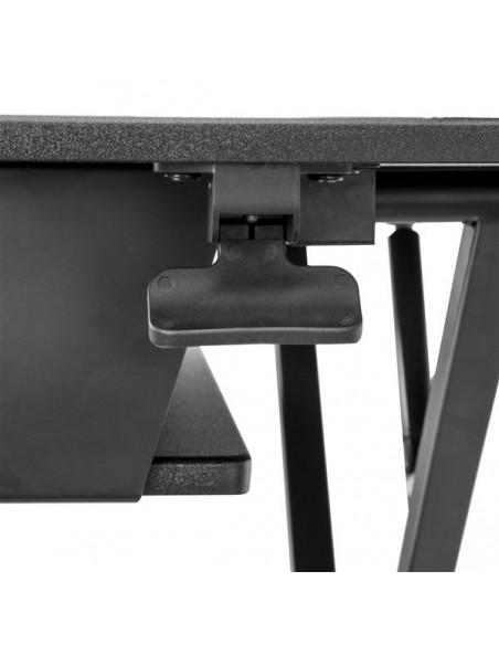 """StarTech.com Höj- och sänkbar skrivbordskonverterare - Stor 35"""" arbetsyta Startech ARMSTSLG - 5"""