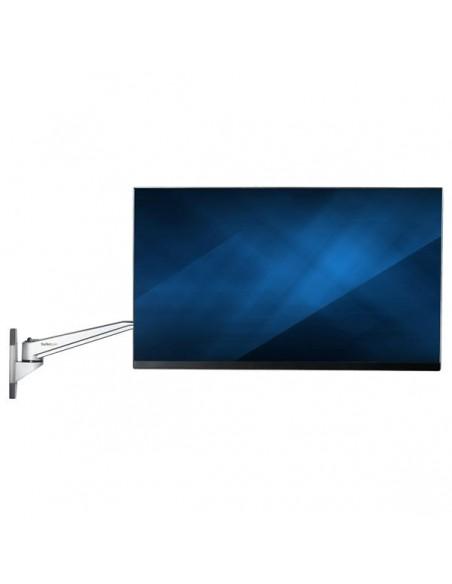 "StarTech.com Wall Mount Monitor Arm - Articulating Ergonomic VESA 20"" (52cm) Long Single Display up to 34 inch Startech ARMWALLD"