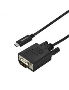 StarTech.com CDP2VGA3MBNL videokaapeli-adapteri 3 m USB Type-C VGA (D-Sub) Musta Startech CDP2VGA3MBNL - 1