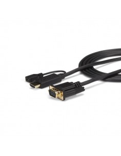 StarTech.com 3 ft HDMI to VGA Active Converter Cable - Adapter 1920x1200 or 1080p Startech HD2VGAMM3 - 1