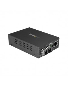 StarTech.com MCMGBSCMM055 mediakonverterare för nätverk 1000 Mbit/s 850 nm Flerläge Svart Startech MCMGBSCMM055 - 1