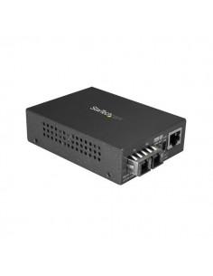 StarTech.com Multimode (MM) SC Fiber Media Converter for 10/100/1000 Network - 550m Range Gigabit Ethernet 850nm Full Duplex Sta
