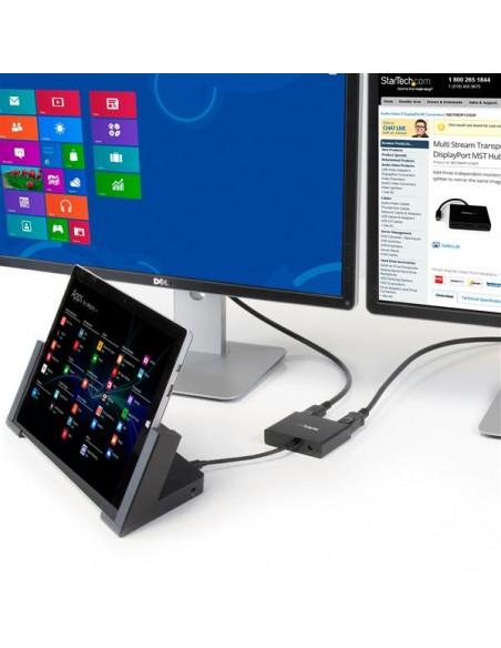 StarTech.com MSTMDP123DP videohaaroitin Mini DisplayPort 3x Startech MSTMDP123DP - 9