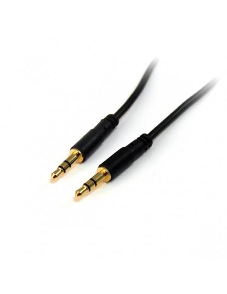 StarTech.com 3 m Slim 3.5 mm stereoaudiokabel - M/M Startech MU10MMS - 1