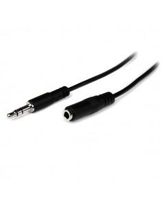 StarTech.com MU2MMFS audiokaapeli 2 m 3.5mm Musta Startech MU2MMFS - 1