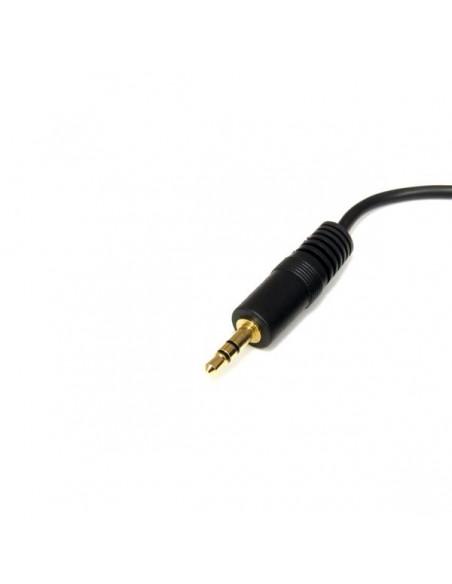 StarTech.com 6ft 3.5mm audiokaapeli 1.8 m Musta Startech MU6MM - 2